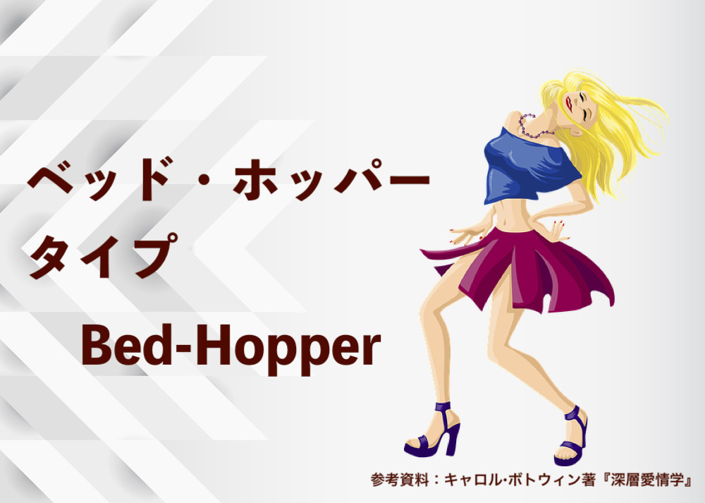 「ベッド・ホッパー」タイプのあなたの恋愛心理は?